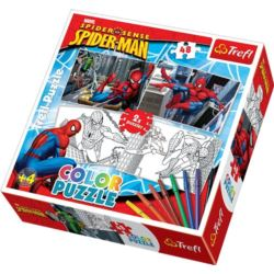 Puzzle Color 2x48 Spider-man TREFL