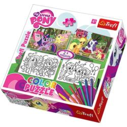 Puzzle Color 2x48 My Little Pony TREFL