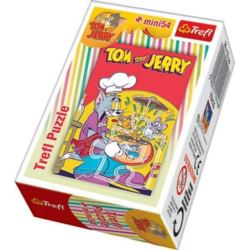 Puzzle 54 Mini Tom i Jerry TREFL