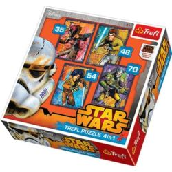 Puzzle 4w1 Star Wars Rebels TREFL