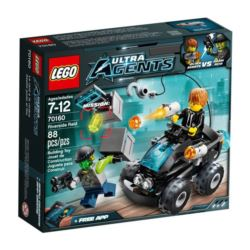 LEGO ULTRA AGENTS Pościg Quadem 70160