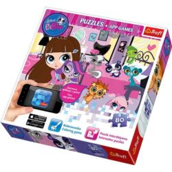 Puzzle 80 Zwierzaki Pet Shop TREFL