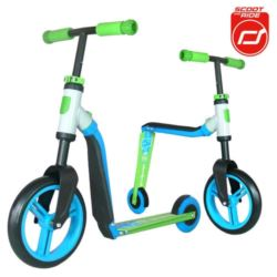 SCOOTANDRIDE Highwaybuddy 2w1 BLUE/GREEN