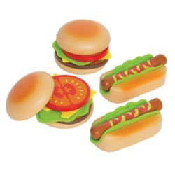 Hamburger i Hot Dog HAPE