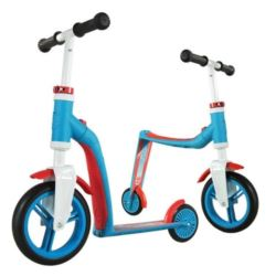 SCOOTANDRIDE Highwaybaby 2w1 BLUE/RED