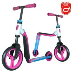 SCOOTANDRIDE Highwaybuddy 2w1 PINK/BLUE