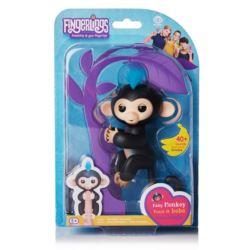 Małpka FINGERLINGS Finn czarna