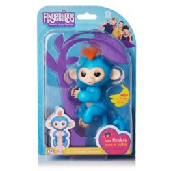 Małpka FINGERLINGS Boris niebieska