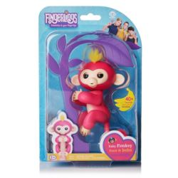 Małpka FINGERLINGS Bella różowa